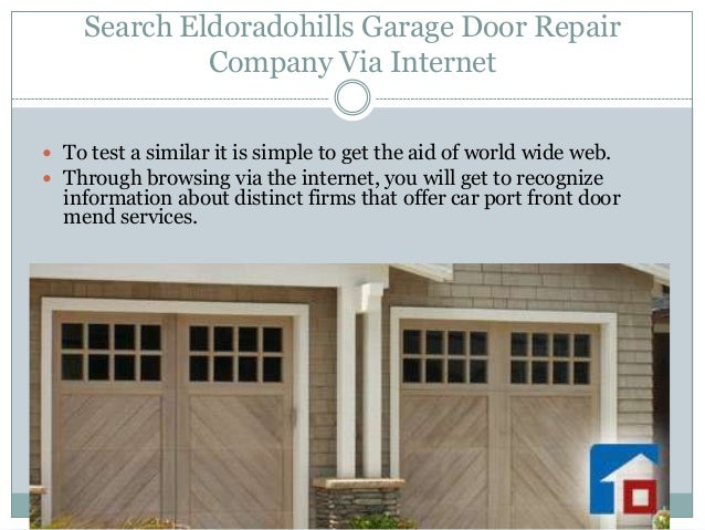 El dorado hills garage door repair