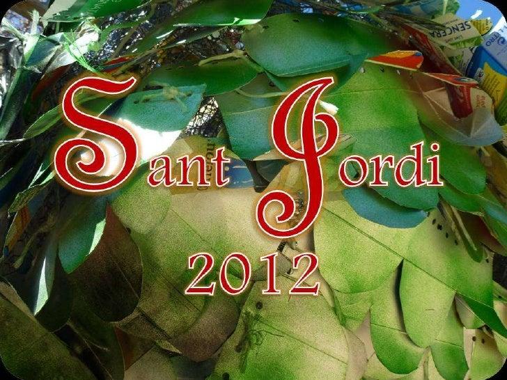 El Drac de Sant Jordi 2012