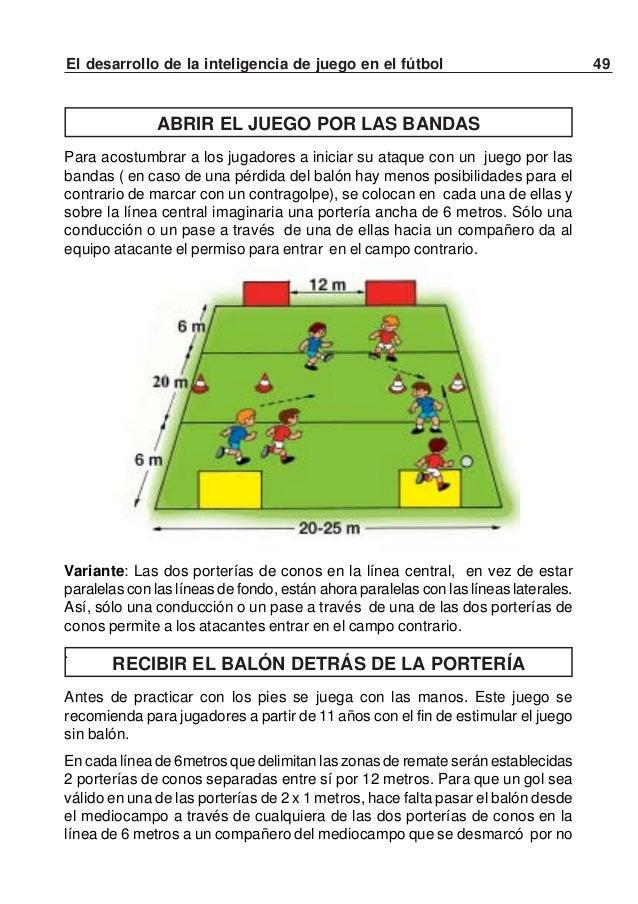 50 El desarrollo de la inteligencia de juego en el fútbol¿Qué deben hacer los atacantes para poder ganar el partido?Prefer...