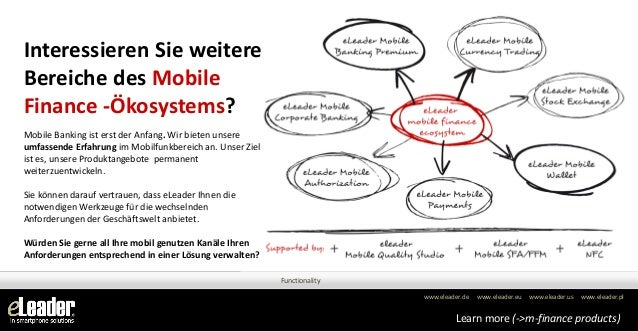Interessieren Sie weitereBereiche des MobileFinance -Ökosystems?Mobile Banking ist erst der Anfang. Wir bieten unsereumfas...
