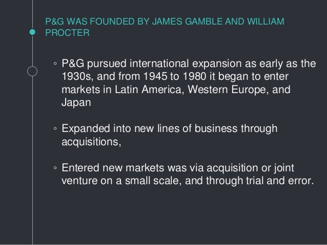 procter and gamble case study At p&g, we are focused on building consumer-preferred brands and products  that create value for consumers and shareowners p&g annual report.