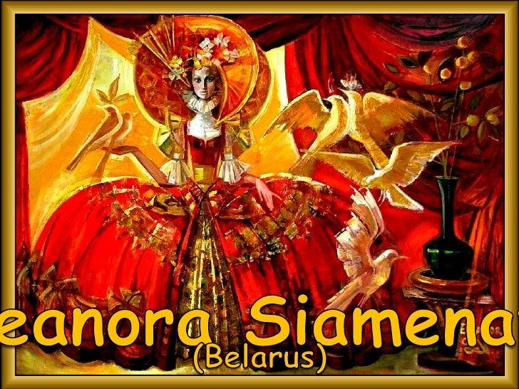 Eleanora Siamenava<br />(Belarus)<br />