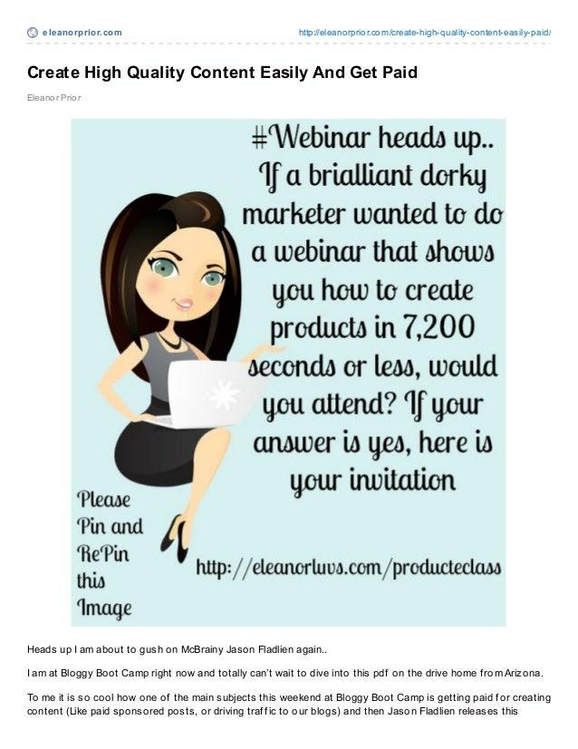 eleanorprior.com http://eleanorprior.com/create-high-quality-content-easily-paid/Create High Quality Content Easily And Ge...