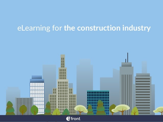 eLearning  for  the  construction  industry