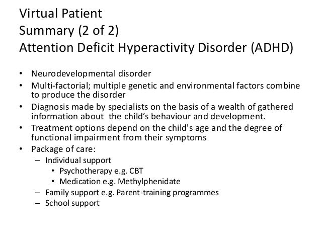 an analysis of the diagnosis of adhd or attention deficit According to the national institute of mental health, the attention deficit hyperactivity disorder (adhd) is a brain disorder marked by an ongoing pattern of inattention and/or hyperactivity-impulsivity that interferes with functioning or development.
