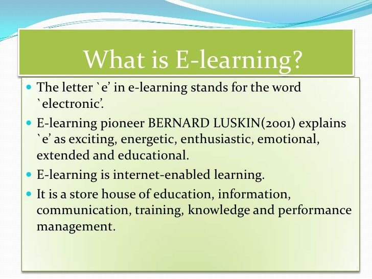 teaching & learning is 'one-to-one' (individual)