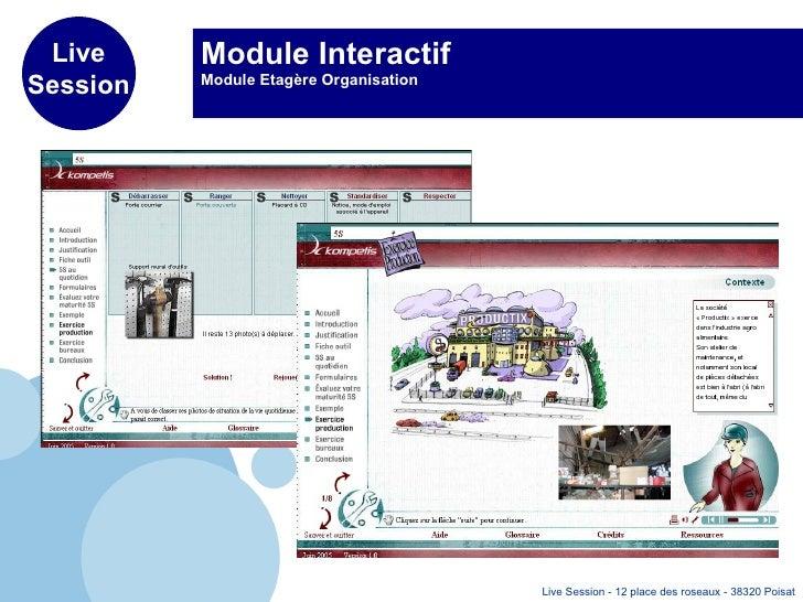 Module Interactif Module Etagère Organisation