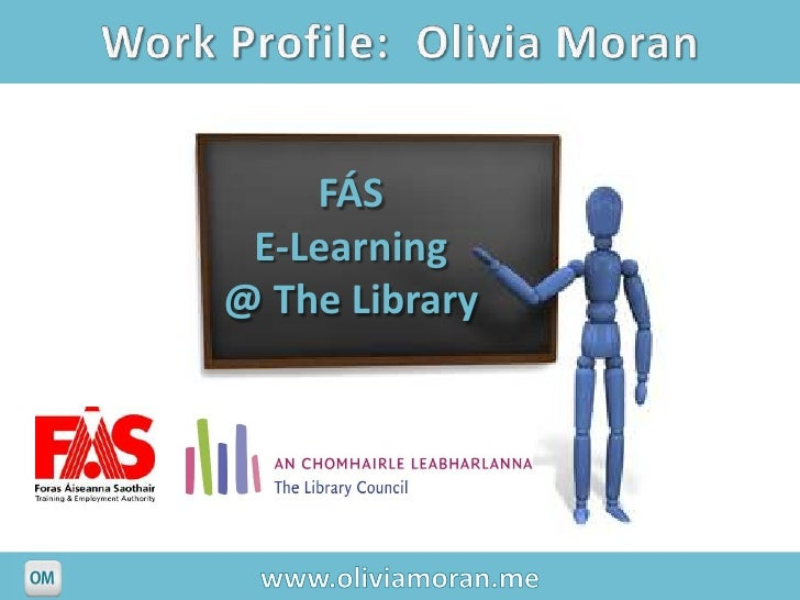 FÁS E-Learning@ The Library