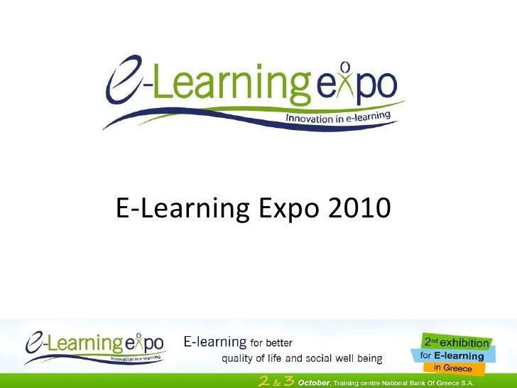 E-Learning Expo 2010
