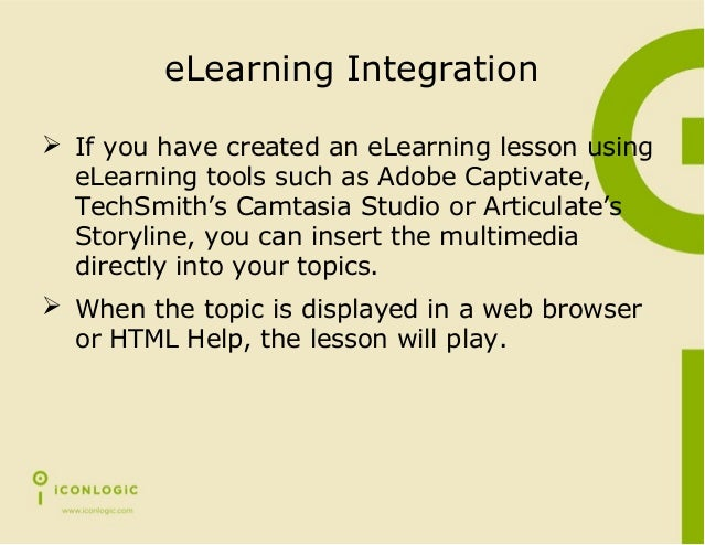 eLearning & Help Systems: A Marriage Made in Heaven Slide 3