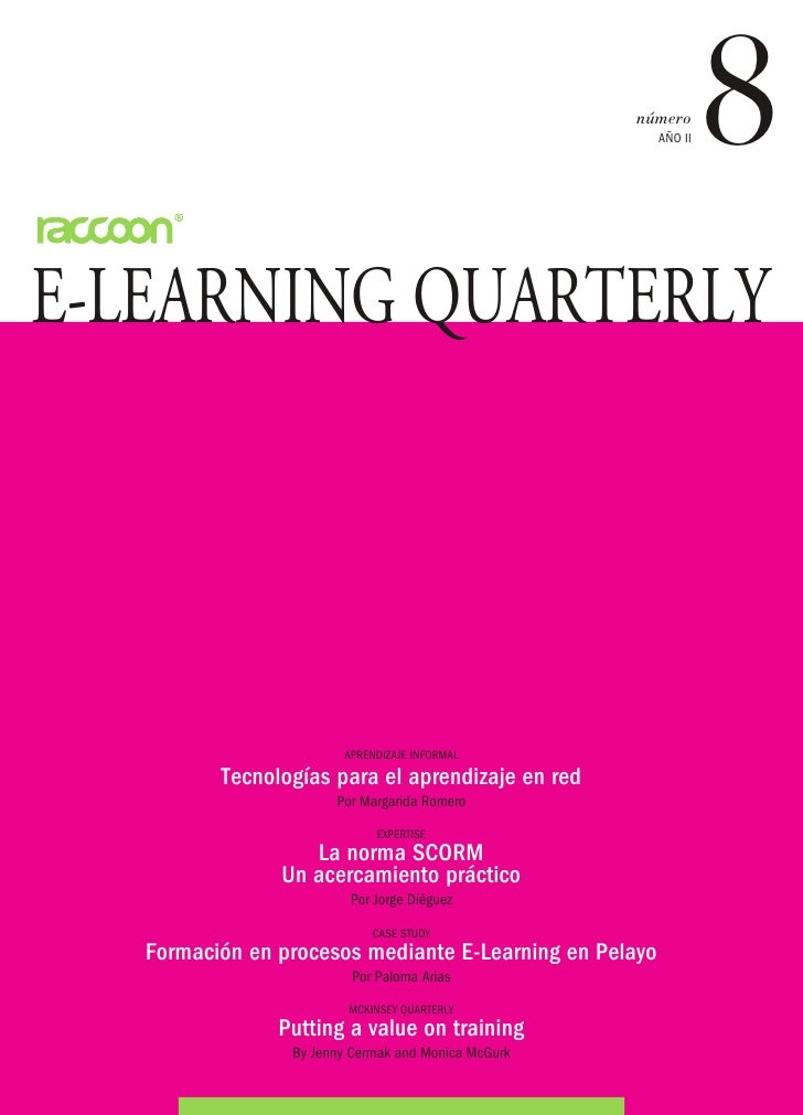 número                                                         AÑO II   8E-LEARNING QUARTERLY                        APREN...