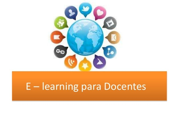 E – learning para Docentes