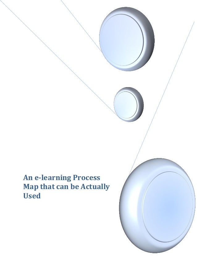An e-learning ProcessMap that can be ActuallyUsed