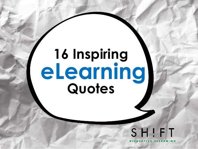16 InspiringQuoteseLearning
