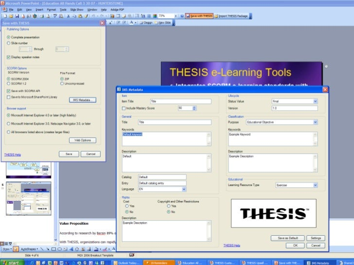 hunterstone thesis software