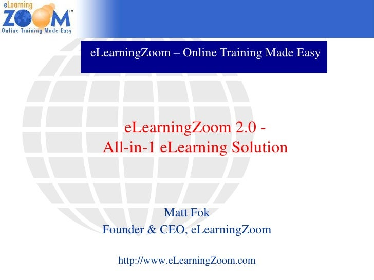 eLearningZoom Learning Suite - All-in-1 Online Training