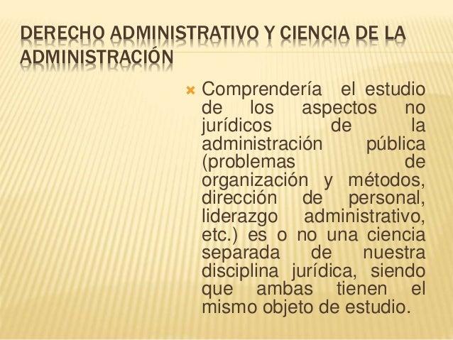 El derecho administrativo y su relacion con otras ciencias for Que es una oficina publica