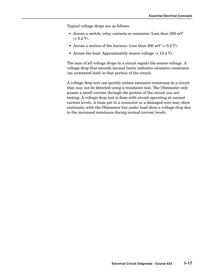 Elec01 - Relay Contact Voltage Drop