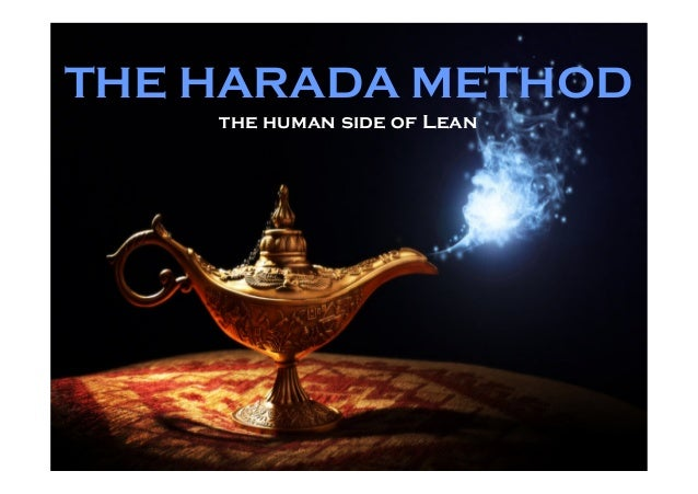 THE HARADA METHOD the human side of Lean