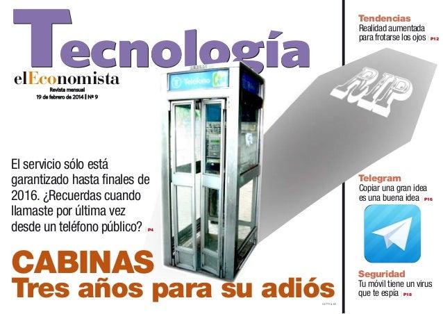 Tecnología  Tendencias Realidad aumentada para frotarse los ojos   P12  elEconomista Revista mensual 19 de febrero de 2014...