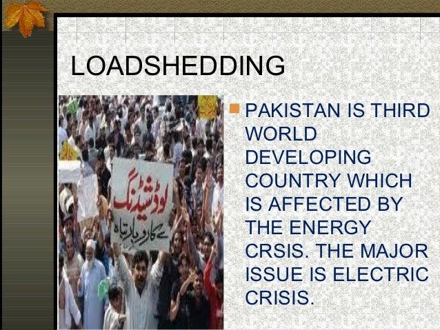 Electic crisis in pakistan Slide 2