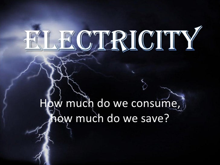 How much do we consume, how much do we save?