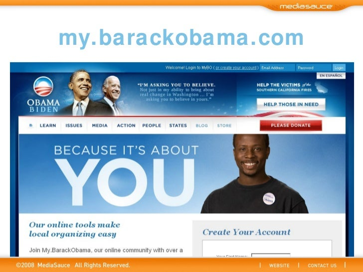 my.barackobama.com