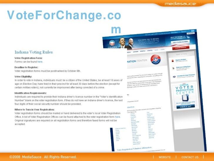 VoteForChange.com