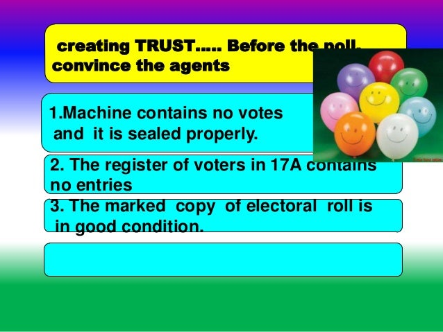 India election 2014 duty of polling officers 69 commencement of poll maintaining secrecy fandeluxe Gallery