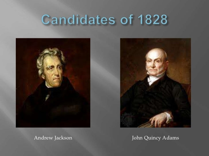 andrew jackson campaign speech of 1828 Posts about 1828-1852 campaigns written by trevor parry-giles.