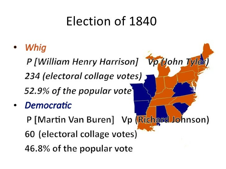 Election Of 1836 And 1840
