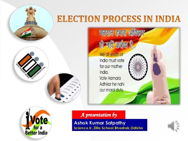 election procedure in india essays