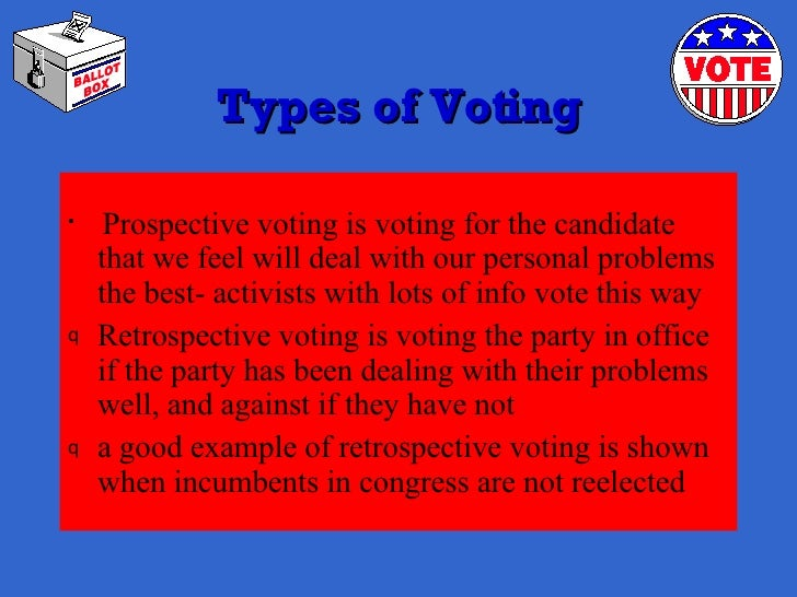 27 Types Of Voting