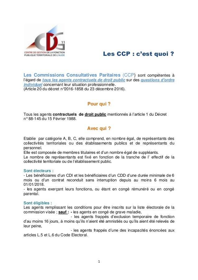 Elections Professionnelles 2018 Fonction Publique Territoriale