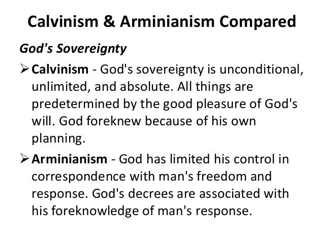A description of calvinism as a belief in that man is totally depraved