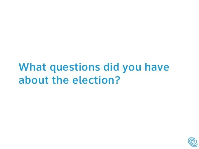 Answering voters' questions at county election websites  Slide 3