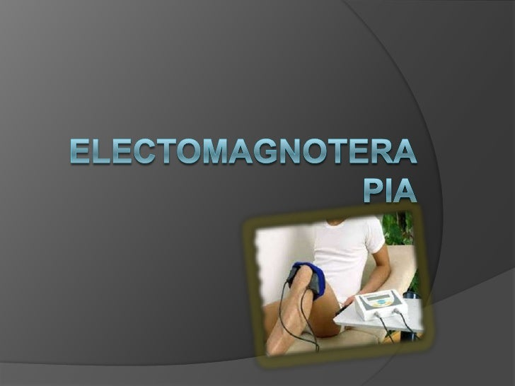 electomagnoterapia<br />