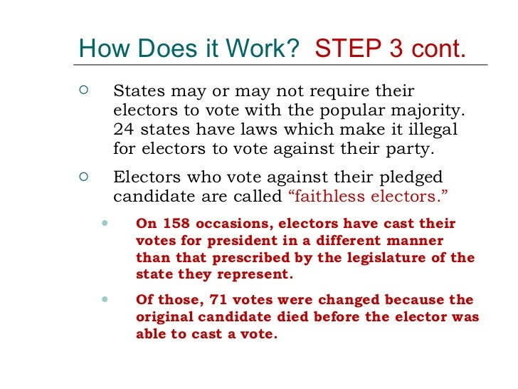 how works electoral college The electoral college will dominate the airwaves and the headlines on election day tuesday but what exactly is the electoral college below is a quick guide on what it does and why it matters.