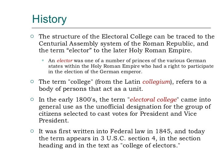 essays in electoral college Read this essay on electoral college essay come browse our large digital warehouse of free sample essays get the knowledge you need in order to pass your classes.