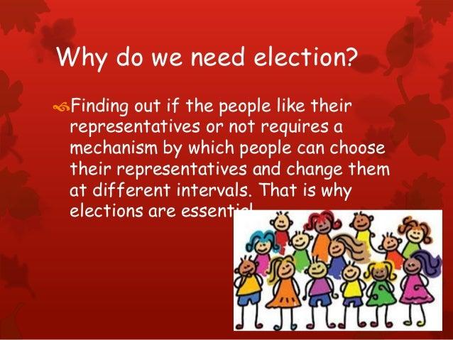 Electoral politics class IX Slide 2