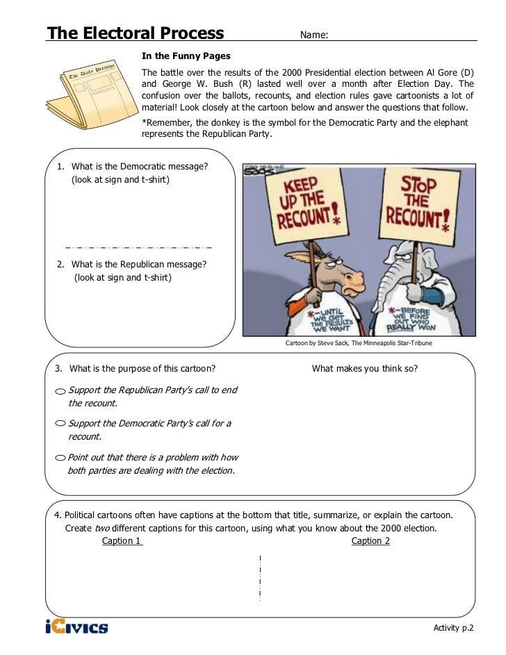 Electoral Process iCivics