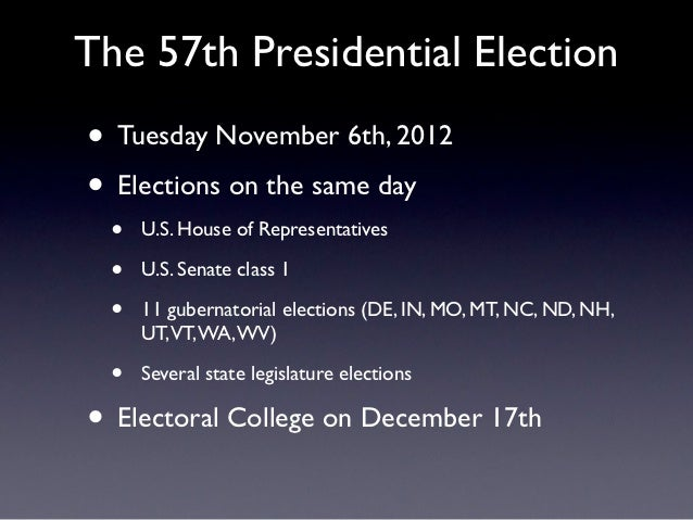 meet the presidential candidates 2012 usa
