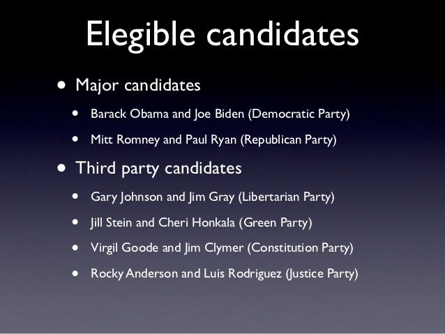 The Electoral System of the USA // The 2012 Presidential Election