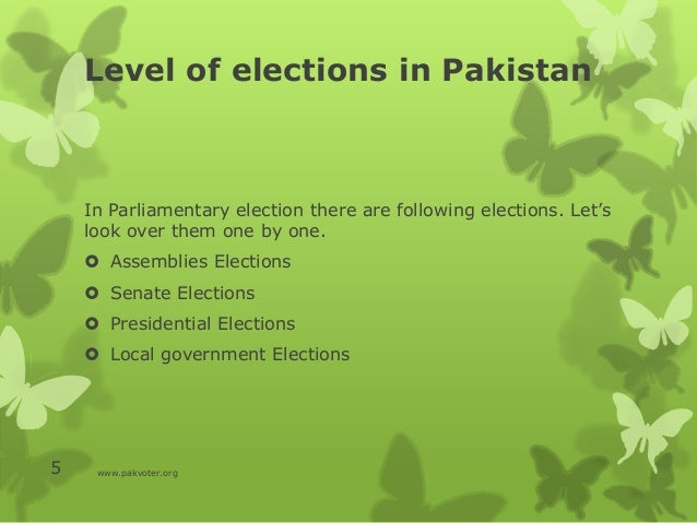 essay on election system in pakistan General elections in pakistan essay sample there was a time when monarchy and dictatorship were firmly rooted in the world however, in course of time, the days of monarchy and dictatorship have gone.
