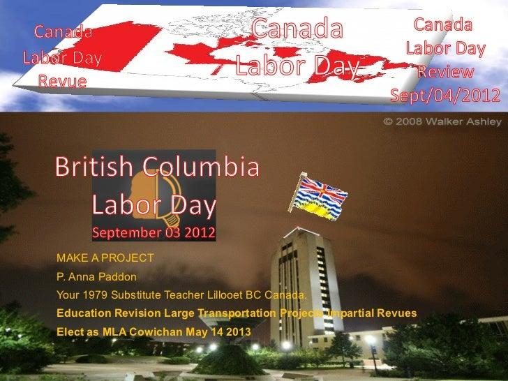 Canada                               Canada                      CanadaLabor Day                                          ...