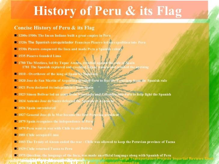 Elect p anna paddon mla cowichan may 14 2013 peru countries flag