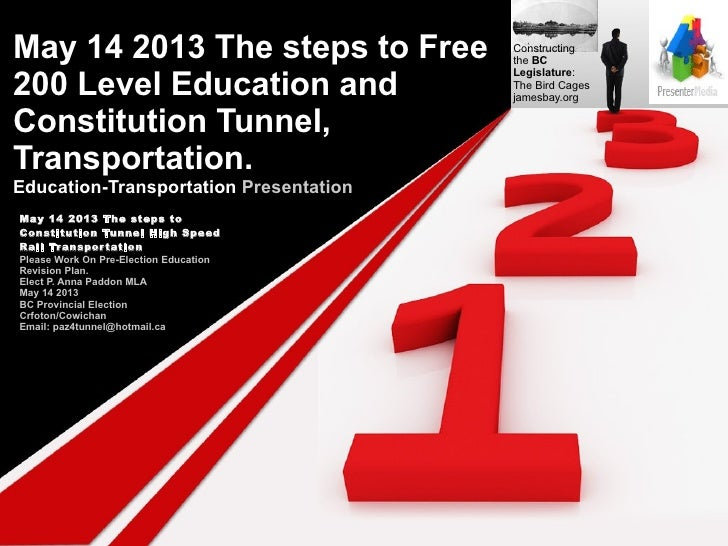 May 14 2013 The steps to Free           Constructing                                        the BC200 Level Education and ...