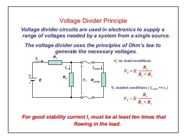 voltage division principle