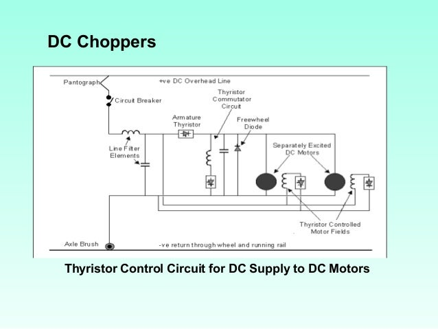 Electric traction dc choppers thyristor control circuit swarovskicordoba Choice Image
