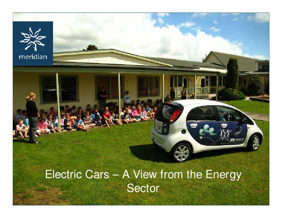 Electric Cars – A View from the Energy                  Sector